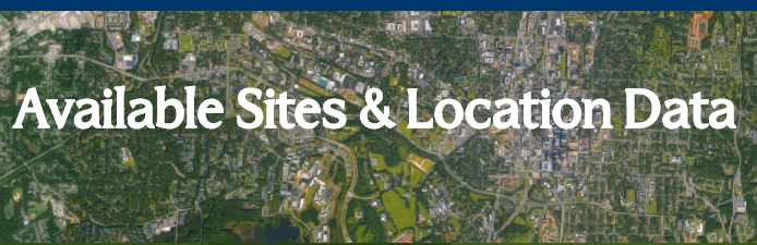 available sites & location data